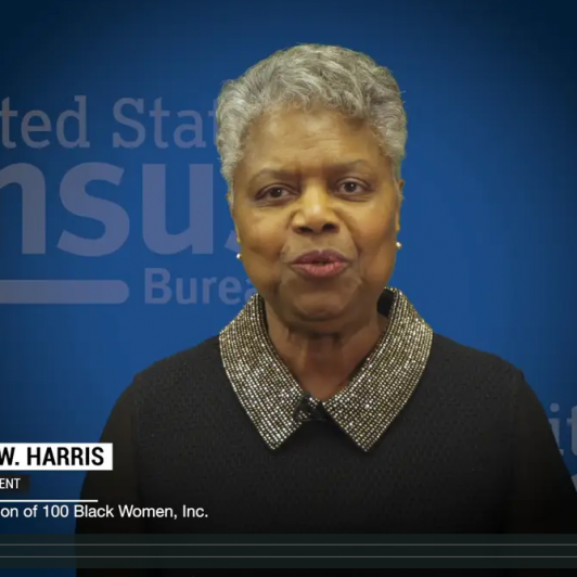 National Coalition of 100 Black Women_Virginia Harris_Census Video Thumbnail_Capture
