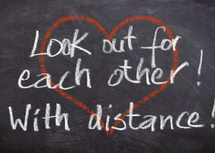 Social Distancing Does Not Mean Emotional Distancing
