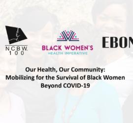 NCBW / Black Women's Health Imperative Webinar