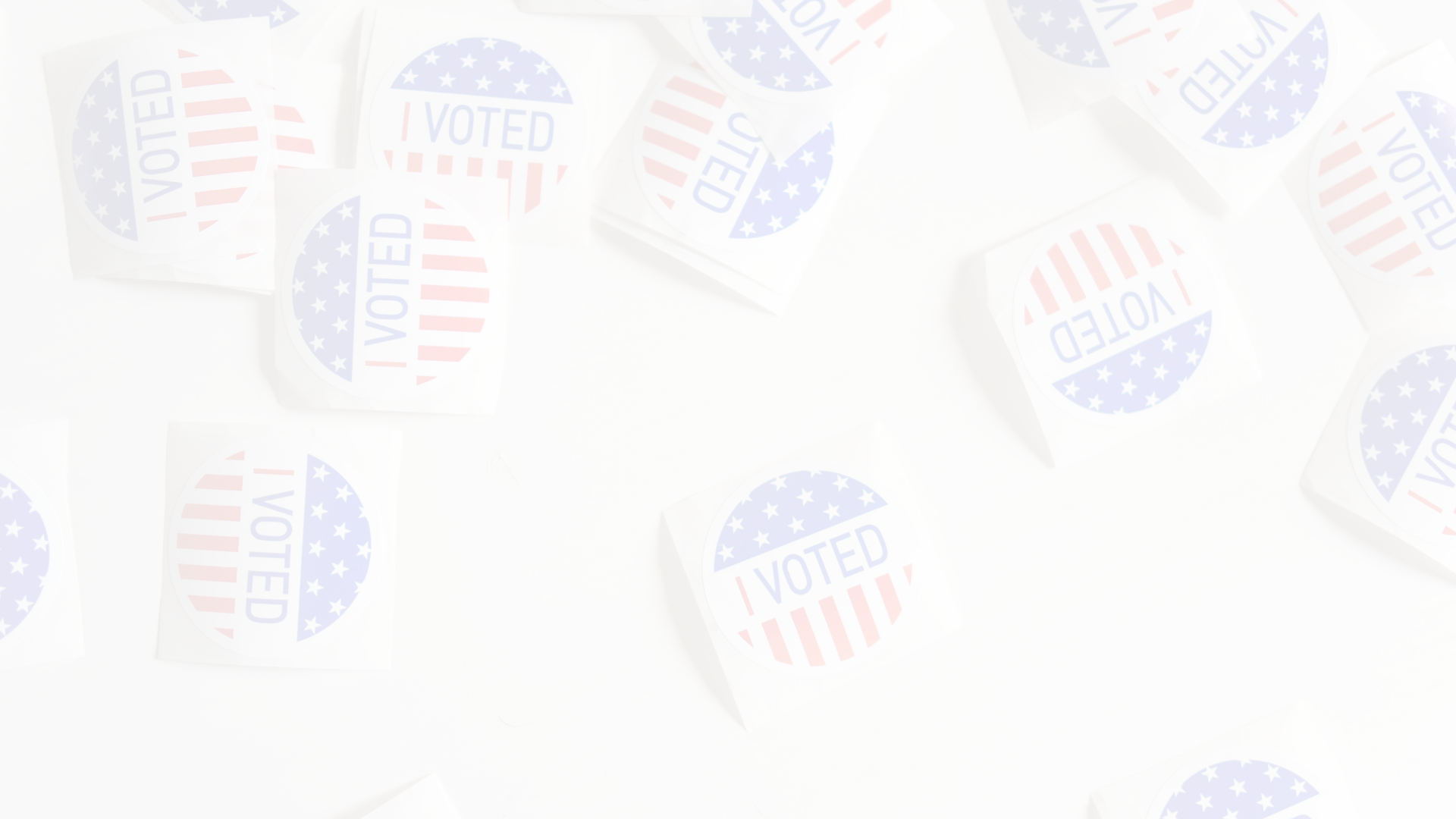 Red white and blue I Voted Stickers_NCBW Slider_1920 x 1080