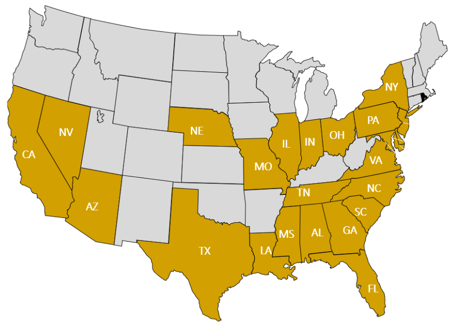 NCBW-National Coalition of 100-Black Women_Chapter-Locations-Map_US_911 x 656