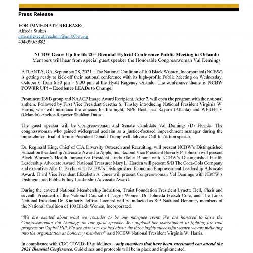 NCBW 20th Biennial - Press Release - Public Meeting_10062021
