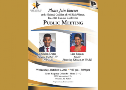Emcee's for Public Meeting: NCBW Biennial Hybrid Conference