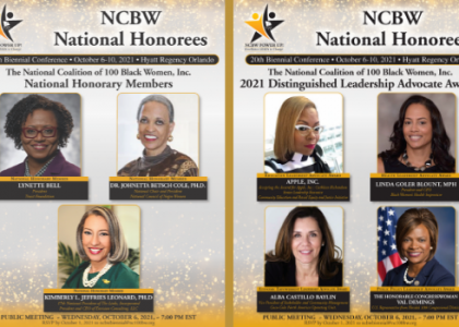 National Honorees: NCBW Biennial Hybrid Conference