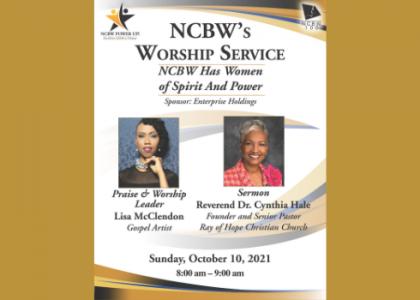 Worship Service: NCBW Biennial Hybrid Conference